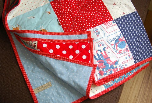 red cot quilt