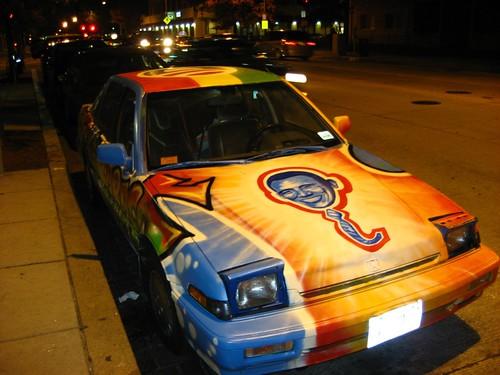 The Obama car