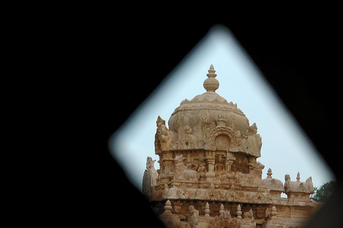 Gopuram glimpse!