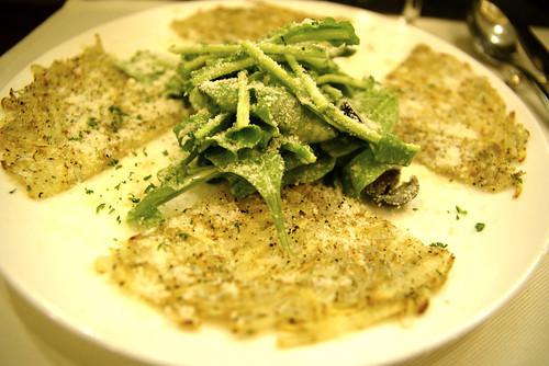 白魚とジャガイモのガレット - チルコロ