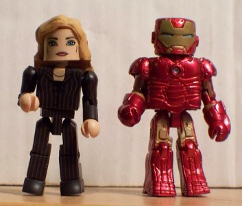Pepper Potts and Iron Man Mark III