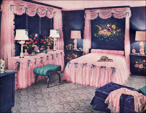 1950s bedroom design submited images