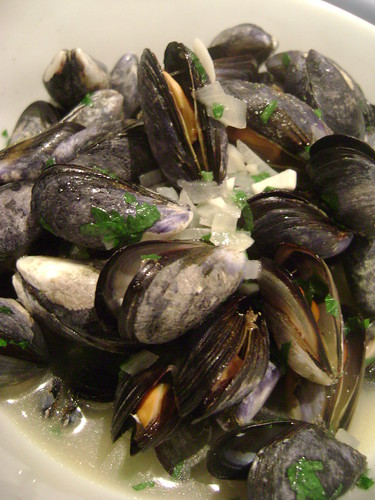 Summer Holiday Mussels