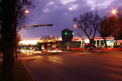 173/365 - Traffic at dusk