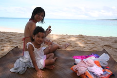 Ice Cream at Puka Beach