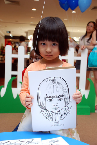caricature live sketching for West Coast Plaza day 2 - 20