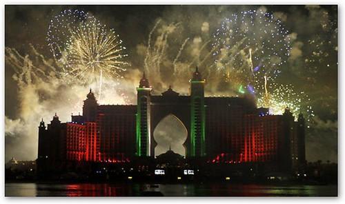 Hotel Atlantis Fireworks