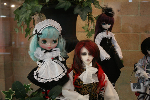 A Royal Doll Tea Party: Cute Lolitas and Expensive Dolls