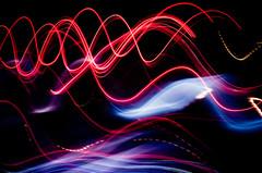 Gone in an instant (Penelope's Loom) Tags: city longexposure blue red blur bus cars night lights nikon purple taiwan 50mm14 taipei d300 287 explored taiwanphotoclub nov2008scavengerhunt nov2008scavengerhuntblur