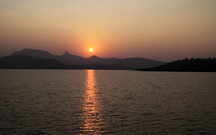 Sunset at Bhandardara (K. Shreesh) Tags: sunset india maharashtra naturesfinest bhandardara mywinners theperfectphotographer natureselegantshots sangamner