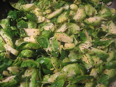 Hashed brussels sprouts