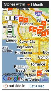 Los Angeles Metblogs Storymap