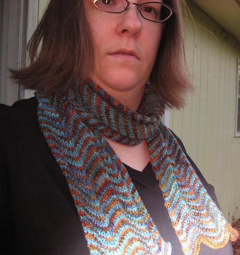 chevron scarf2