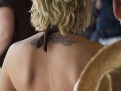 Female Upper Back Tattoo (David Schexnaydre) Tags: tattoo explore topv5555 upperbacktattoo