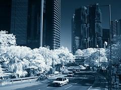 Dream City (hk_traveller) Tags: bw white black canon ir hongkong photo interestingness interesting hong kong explore turbo filter infrared g1  125 canong1 093 r72 douban top500 interestingness125 i500 turbophoto
