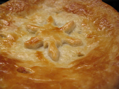 Honey Mustard Chicken Pot Pie