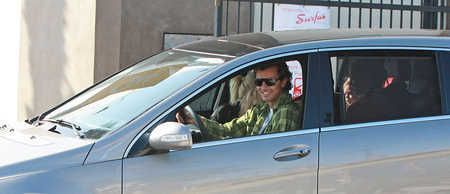 Gavin Rossdale Drives the Mercedes R Class
