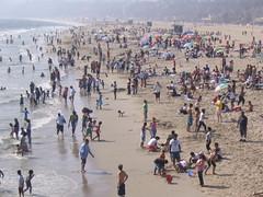 Santa Monica beach july05 (Joseph Geronimo) Tags: losangeles santamonicabeach
