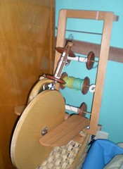 Pocket Wheel and bobbins