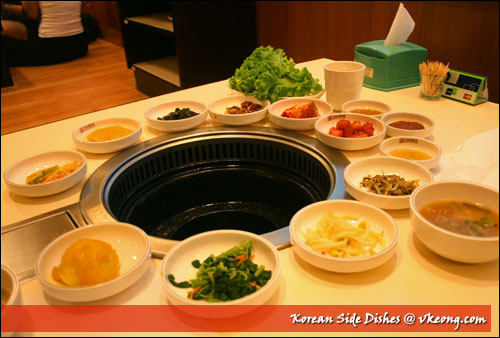 korean side-dishes