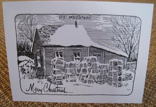 Old Marblehead Christmas Card
