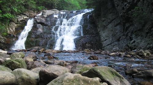 Laurel Forks Falls