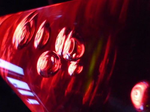 red bubbles at Candy Club