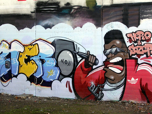 Hero. El rapero. Grafiti 24.