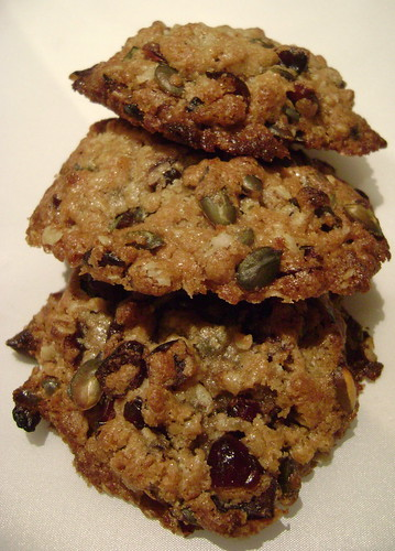 Cranberry and Pumpkin Seed Cookies