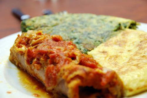 Foto artística del menú