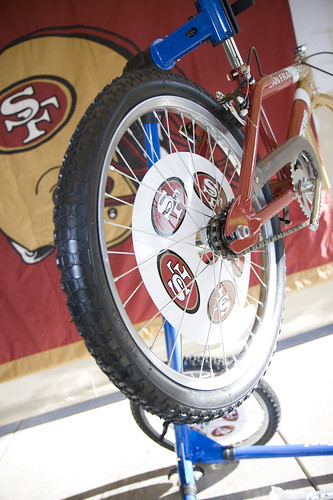 Building Bikes with the 49ers