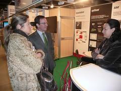 Director Comercio y directora excal visitan la miniferia TIC