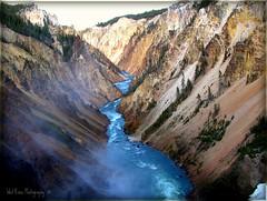 After the Falls (Tracey Tilson Photography) Tags: 2005 nature waterfall canyon falls yellowstone awe picnik upperfalls goldstaraward