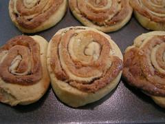 Cinnamon Marzipan Swirls