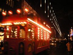 Holiday Tram in Zurich