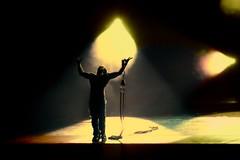 Aria (Ronaldo F Cabuhat) Tags: travel light shadow vacation music man silhouette canon person photography emotion stage performance picture deep actor performer aria physique canondigitalrebelxti canoneosdigitalrebelxti pinoykodakero legrandecirque pkchallenge cabuhat
