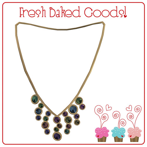 ~*Fresh Baked Goods*~ Soft Sugar Thumprint Cookie Necklace