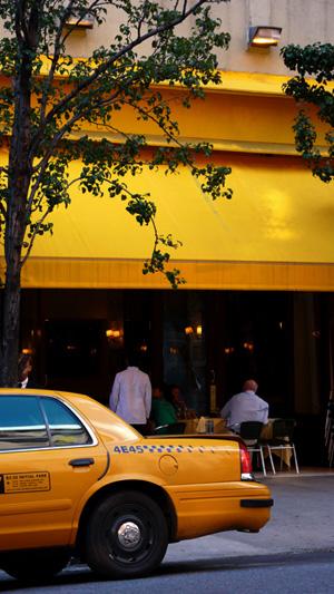 Nueva York en amarillo