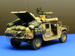 IMG_0460 (saraocraft) Tags: scale model tank military models plastic tamiya hummer hummvee