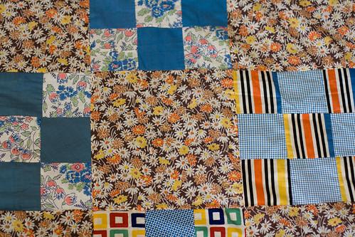 grandma's quilt top