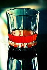 Do ghoont mujhe bhi pilade shrabi... (inderanim) Tags: orange glass reflections wine drink juice delhi filled half caustics inderanim