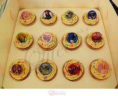 Kids2 (thecupcakequeens) Tags: cars cake kids ball cupcakes shrek little elmo spiderman barbie queens pony batman hi5 littlepony thecupcakequeens