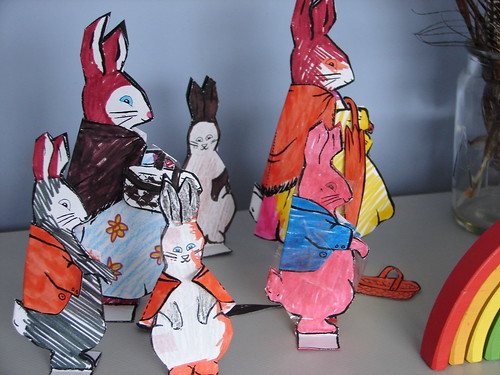 peter rabbit paper dolls