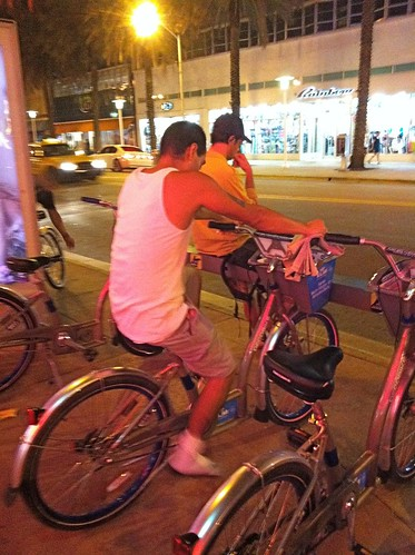Miami Beach Deco Bike