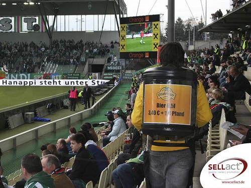 bier im stadion