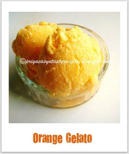 Orange Gelato