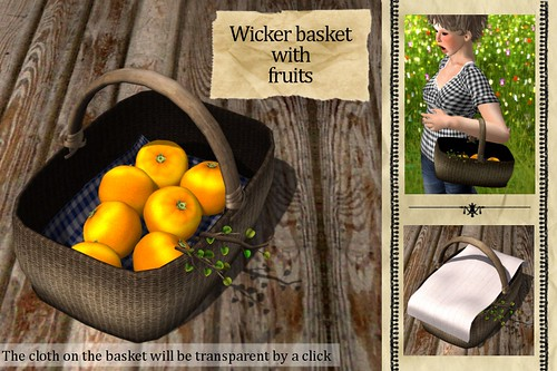 (Slow Kitchen)Wicker_basket(Oranges)