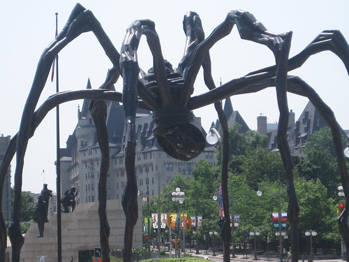"spider, ""Maman"" at ""National Gallery of Canada"""