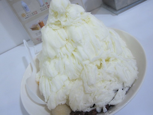 Almond Tofu Shaved Snow
