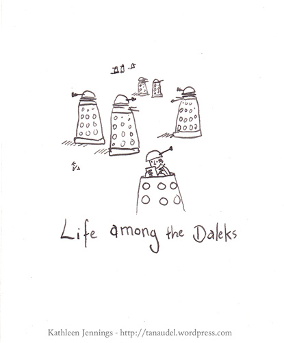 Life among the Daleks